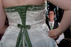 Noiva responsável Imagens de Stock Royalty Free