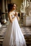 Noiva romântica Fotos de Stock Royalty Free