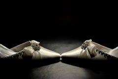 Noiva \ 'sapatas de s Fotografia de Stock
