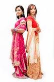 Noivas bengalis bonitas Fotografia de Stock