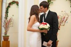 Noivas novas bonitas elegantes Imagem de Stock Royalty Free