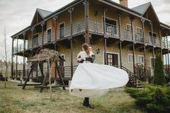 Noivo com a noiva Fotos de Stock Royalty Free