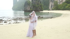 Noivo das tampas da noiva com véu filme