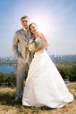 Noivo e a noiva Imagens de Stock