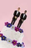 Noivos que wedding fotografia de stock