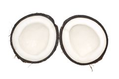 Noix de coco d'isolement Photo stock