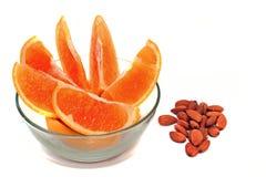 Noix de fruit photos stock