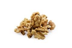 Noix de grain sur la noix Photos stock