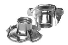 Noix de té d'acier inoxydable d'isolement photo stock