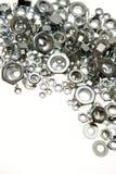 Noix en métal Image stock
