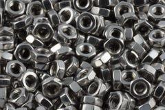 Noix en métal Image libre de droits