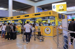 Nok Air Don Mueang airport Bangkok Thailand Royalty Free Stock Images