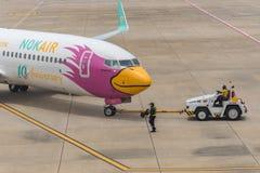 Nok Air (Nok Bussarakam) plane Boeing 737s Royalty Free Stock Photography