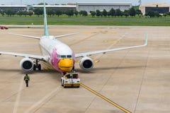 Nok Air (Nok Bussarakam) plane Boeing 737s Royalty Free Stock Photo