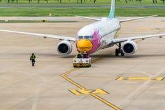 Nok Air (Nok Bussarakam) plane Boeing 737s Stock Photos