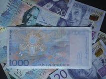 1000 NOK-anmärkning för norsk Krone Arkivfoto