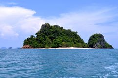 Nok island in the Phang Nga Bay Stock Photos
