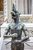 Nok Tantima Bird Statue in Grand Palace, Bangkok Stock Images