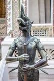 Nok Tantima Bird Statue in Grand Palace, Bangkok. Close up of Nok Tantima Bird statue Buddhist mythology creature Stock Images