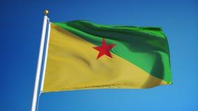 Nok 004 van Frans-Guyana royalty-vrije illustratie