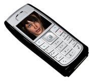 Nokia_3DGirl Lizenzfreie Stockbilder