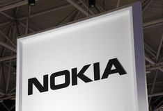 Nokia bokstäver Royaltyfri Foto