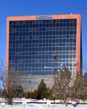 Nokia building outside Ottawa, Canada stock image