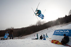 Nokia Freestyle Tour 2011 in Valca, Slovakia Stock Image