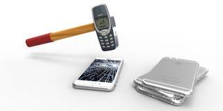Nokia Hammer Stock Image