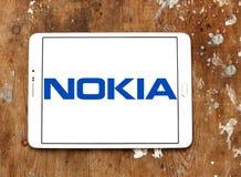 Nokia logo Royaltyfria Bilder