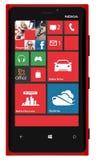 Nokia Lumia 920 smart telefon stock illustrationer
