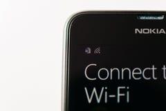 Nokia Lumia Microsoft Widowsphone Imagen de archivo libre de regalías