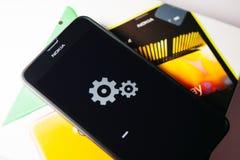 Nokia Lumia Microsoft Widowsphone Photo libre de droits