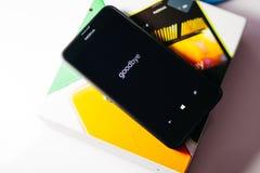 Nokia Lumia Microsoft Widowsphone Imagen de archivo