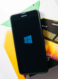 Nokia Lumia Microsoft Widowsphone Photo libre de droits