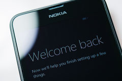Nokia Lumia Microsoft Widowsphone Stock Photos