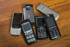 Nokia Mobile Phones Royalty Free Stock Image