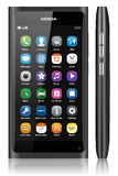 NOKIA N9 TOUCH SCREEN Stock Image