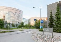 Nokia offices. Nokia office buildings and sign in Keilaniemi Espoo, Finland Stock Photos