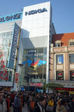 Nokia retail store in shanghai Stock Photography