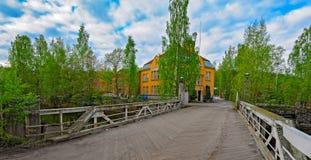 Nokia river industrial area Stock Photos