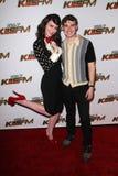 nokia s för 03 11 12 2011 för hollywood för bollca-fm klirr kiis för karmin teater Royaltyfri Foto