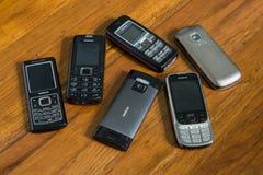 Nokia telefony komórkowi Obraz Stock