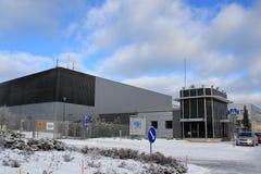 Nokia växt i Salo, Finland royaltyfri foto