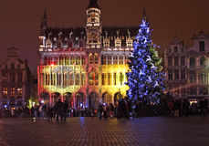 Noël à Bruxelles Image libre de droits