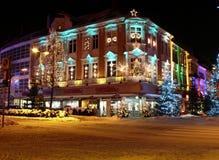 Noël dans le ¼ CK, Osnabrueck d'Osnabrà Image libre de droits