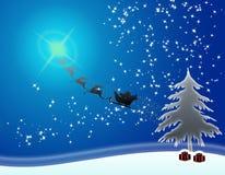 Noël de carte Image stock