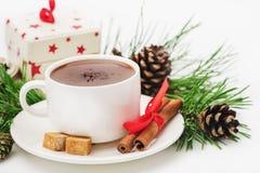 Noël de carte de voeux Joyeux, bonne année Photographie stock libre de droits