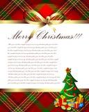 Noël de fond Image stock