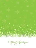 Noël de vert de limette Images stock
